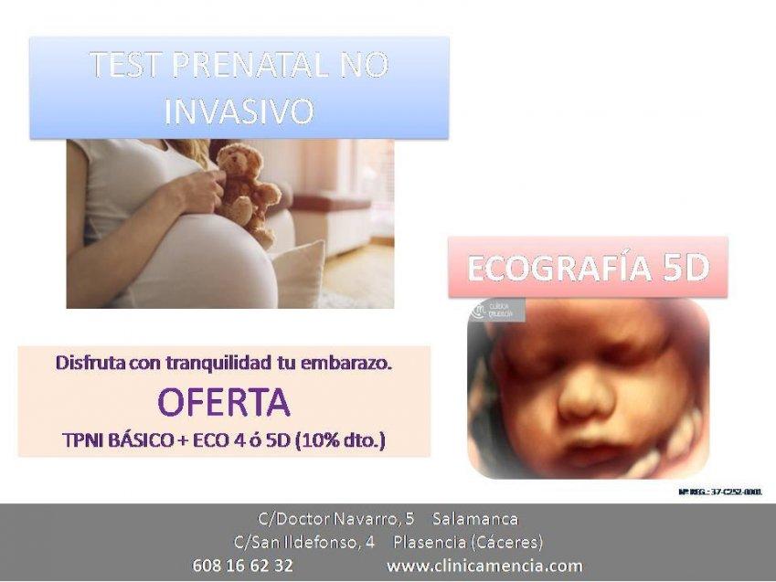 8507a60fb TEST PRENATAL NO INVASIVO Y CONOCER EL SEXO DE TU BEBÉ (A PARTIR DE LA  SEMANA 10 DE EMBARAZO) + ECOGRAFÍA EN 3-4 Ó 5 DIMENSIONES (A PARTIR DE LA  SEMANA 28 ...